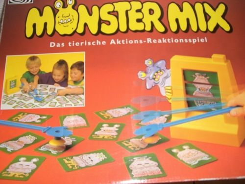 Monster Mix Spiel Game Monstermix Hände Hand Hands klatschen Klatsche clap Machine Maschine