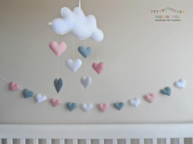 Maisie-Moo Handmade Felt Creations: Maisie Moo Clouds