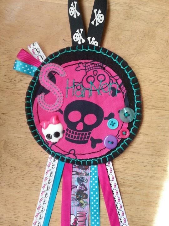 Monster High door hanger