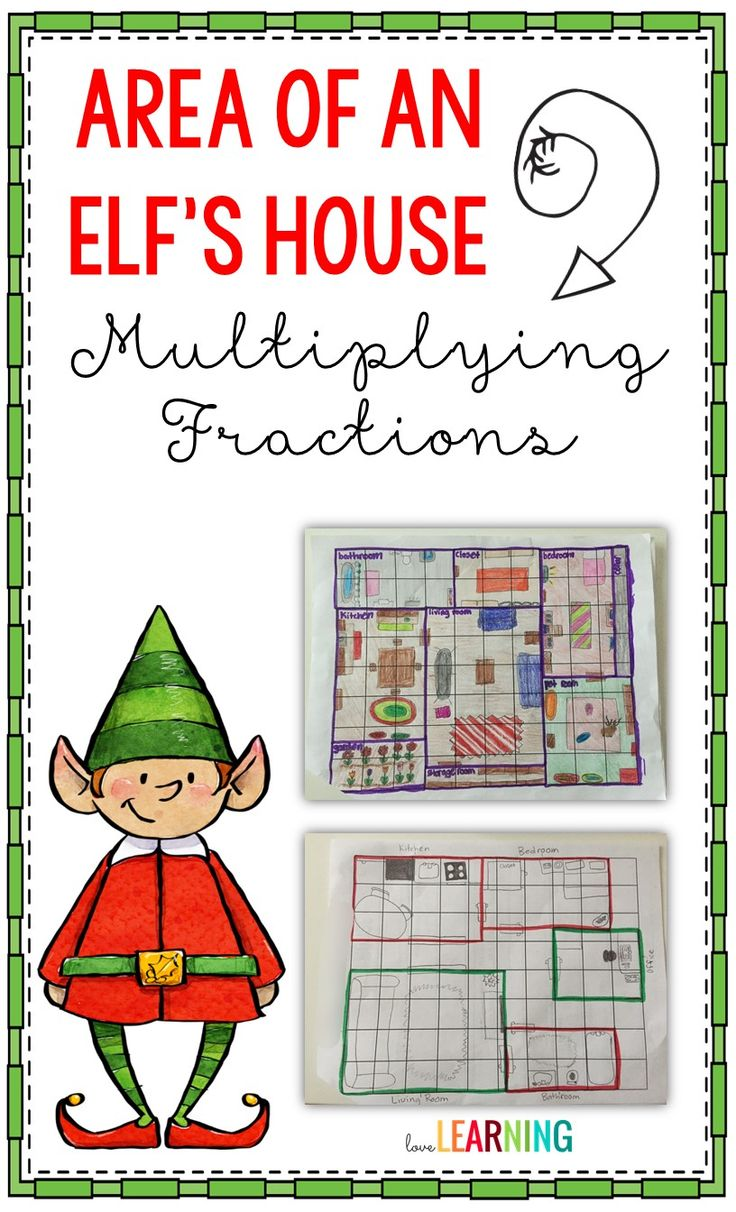 Design An Elf's House: Handson Practice With Area And Multiplying Fractions  How To Find The Area Of A Trapezoid