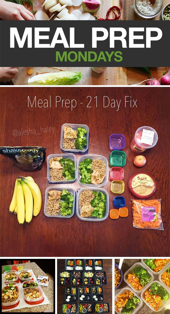 The 21 Day Fix containers can help make Meal Prep easier. Get some inspiration for your next prep from these tasty-looking menus from 21 Day Fix fans! #21DayFix #21DayFixApproved #MealPrepMonday #mealprep #healthyeating #beachbody #beachbodyblog