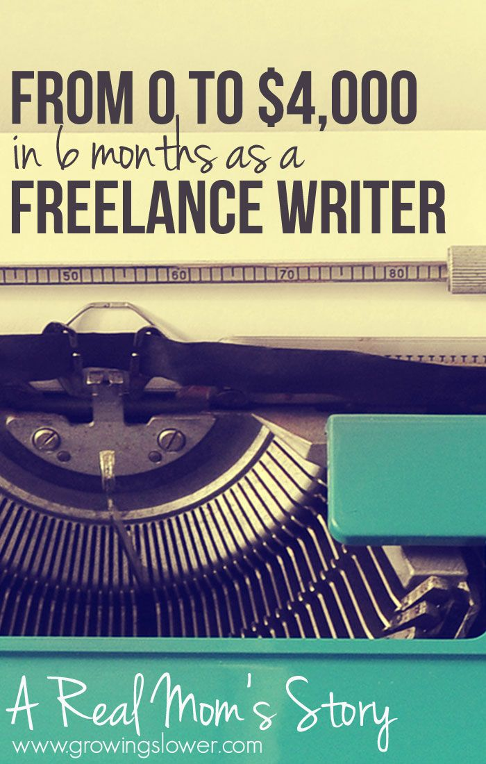 From Zero to $4,000 in 6 Months as a Freelance Writer from Home: Gina shares her story!