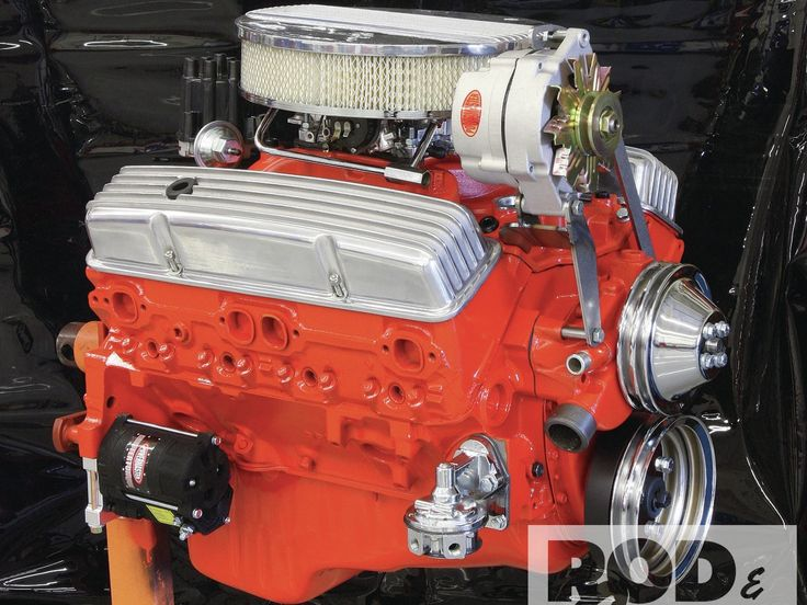 GM Performance Goodwrench 350 Small Block Chevy Crate Motor - Hot Rod Network