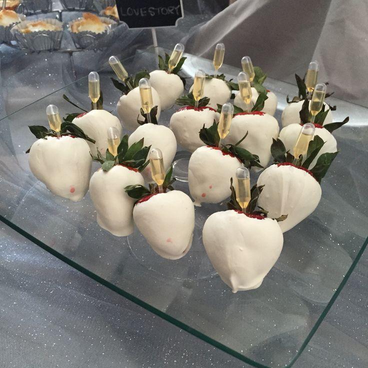 White Chocolate Covered Strawberries Diy