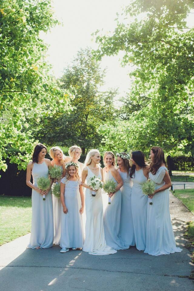 Maids To Measure Dove Grey Bridesmaid Dresses Beautiful Wedding And Bridesmaids Maidstomeasure