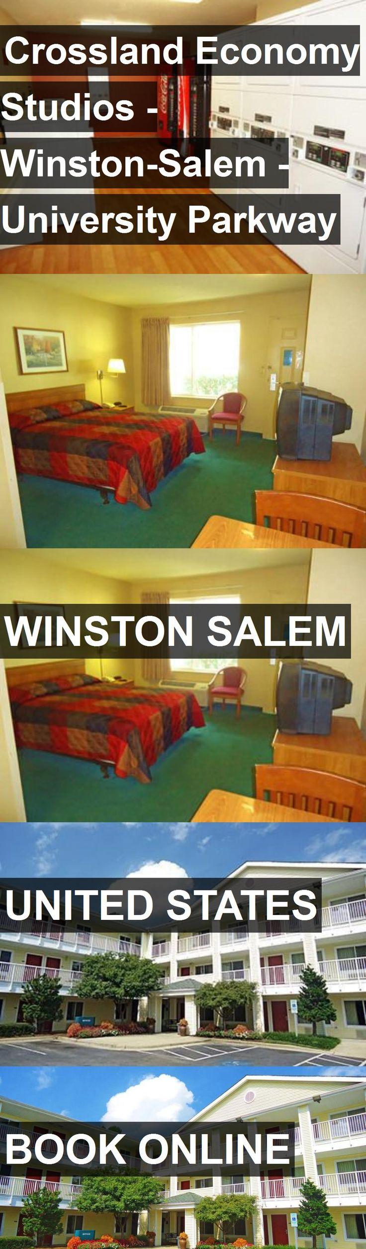 Hotel Crossland Economy Studios - Winston-Salem - University Parkway in Winston Salem, United States. For more information, photos, reviews and best prices please follow the link. #UnitedStates #WinstonSalem #travel #vacation #hotel