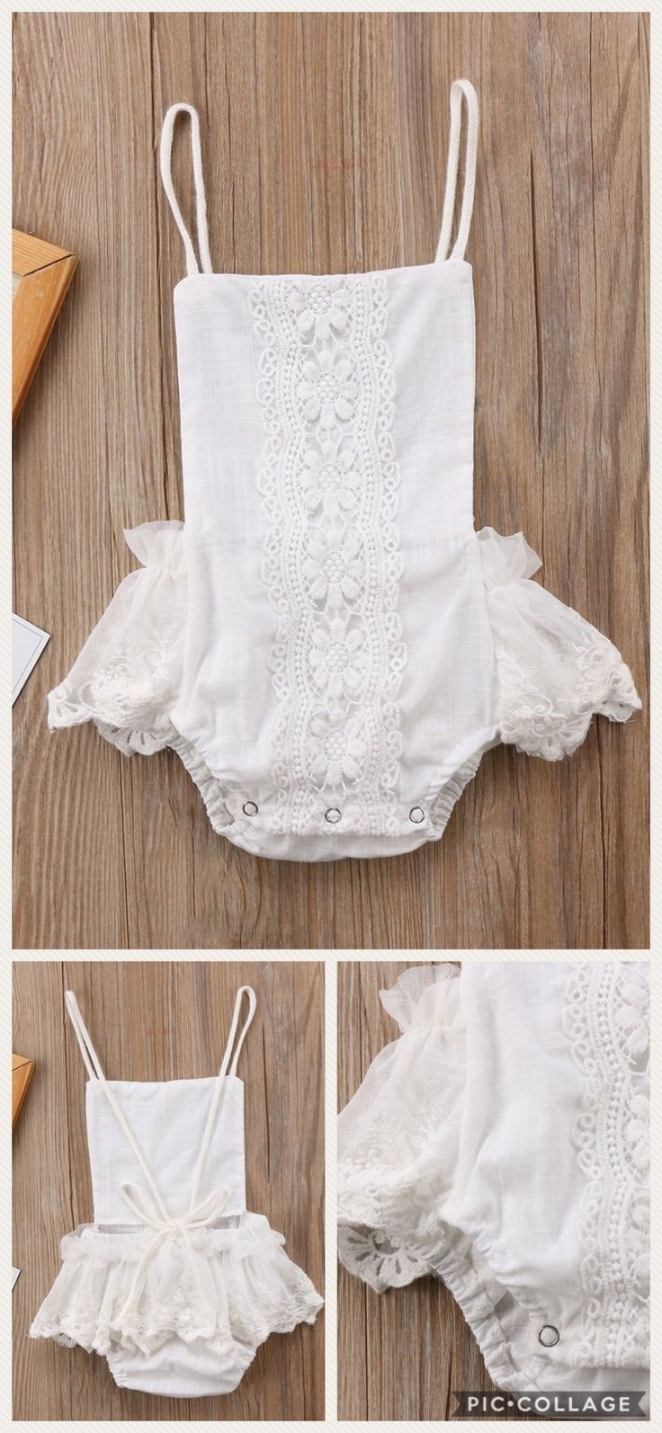 143afd1fdb78 White Lace Low Back Romper