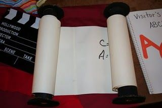 Paper towel scroll craft idea. Kids could make miniature versions with toilet paper rolls.