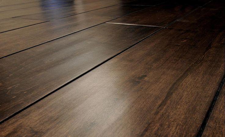 BuildDirect – Engineered Hardwood - New Cosmopolitan Trendy Collection – Maple Coffee - Angle View