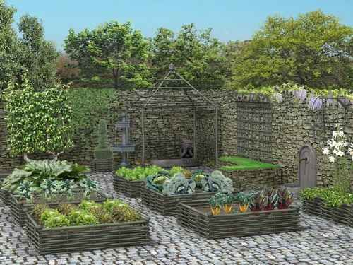 Directly inspired by the monastic gardens of the Middle Ages, this garden has kept the three main aspects: it is decorative, symbolic and useful for cooking. More importantly, it is at your fingertips.
