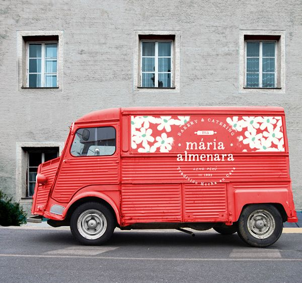 Maria Almenara Bakery branding