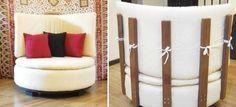 Cómo transformar un neumático en un sillón circular    Existen muchas posibilidades para crear muebles reutilizando neumáticos. Este proyecto requiere un poco más de trabajo, pero el resultado valdrá la pena. Al terminar, tendrás un cómodo y original sillón para descansar en tu hogar.