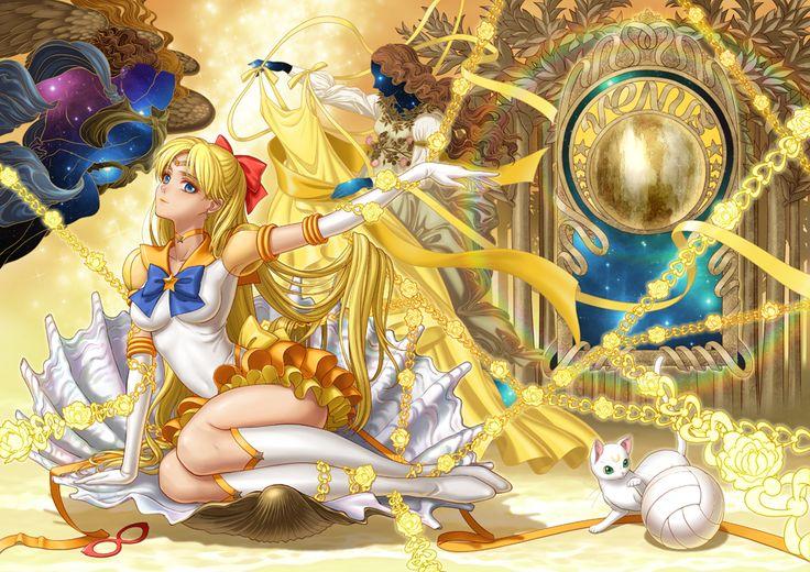 Sailor Venus Fanart by eclosion.