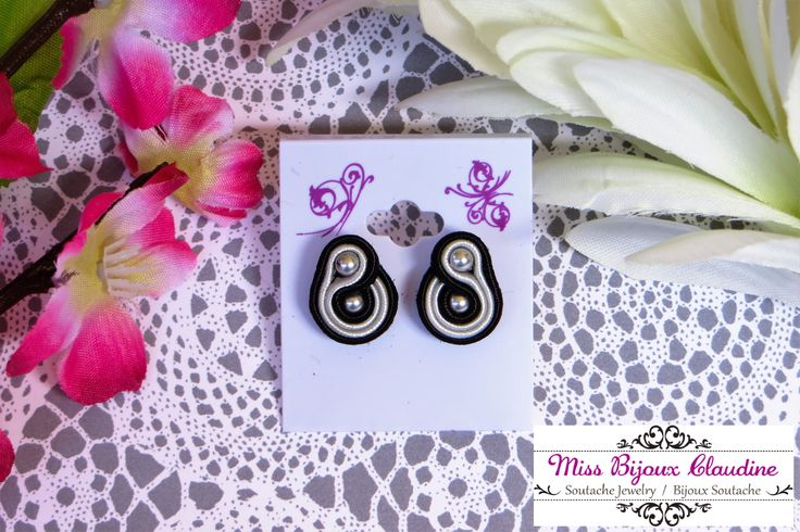 Mini Soutache Earrings - Miss Bijoux Claudine - summer 2016