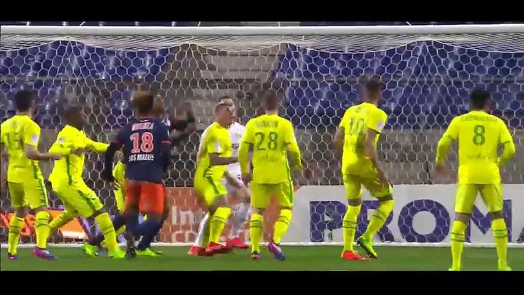 VIDEO Montpellier 2 - 3 Nantes HIGHLIGHTS 11.03.2017 | PPsoccer