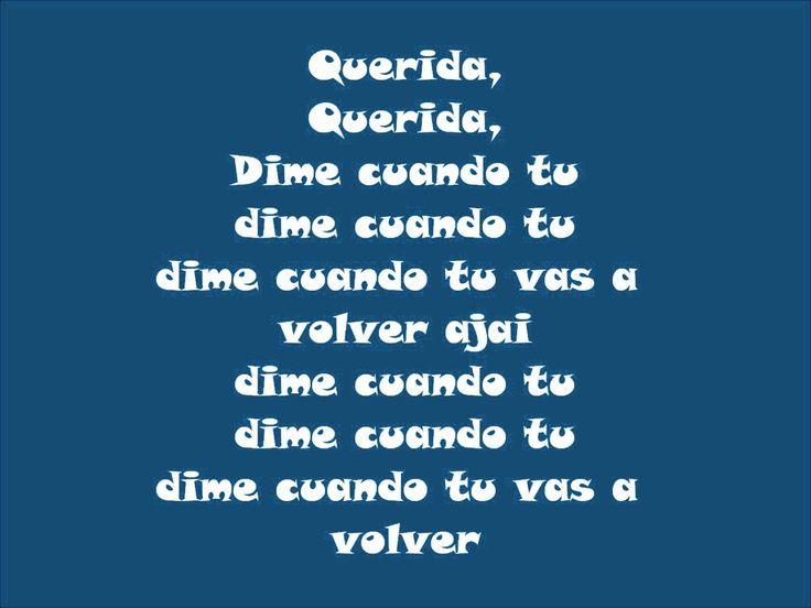 Querida- Juan Gabriel(CON letra)