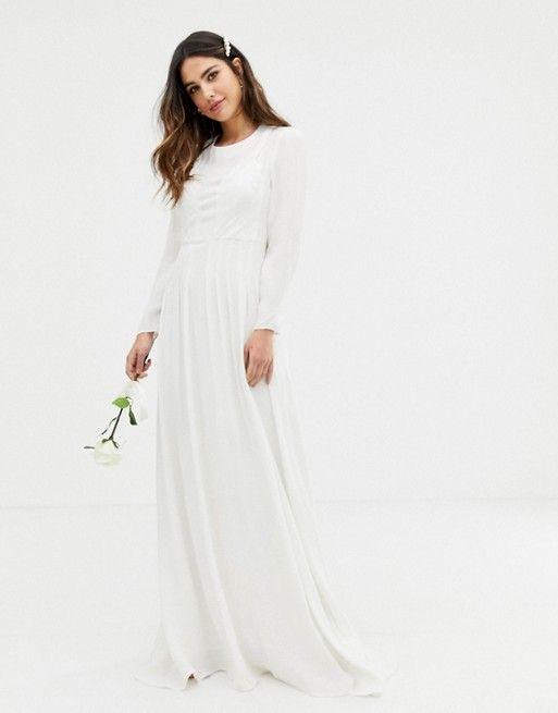 e6ab0cfe3f4e3d EDITION plaited wedding dress in 2019