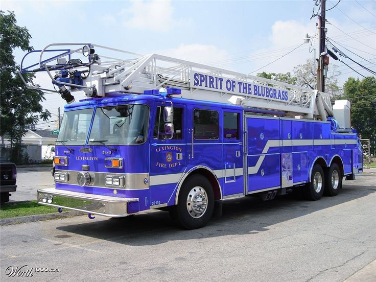 Blue firetruck - Worth1000 Contests