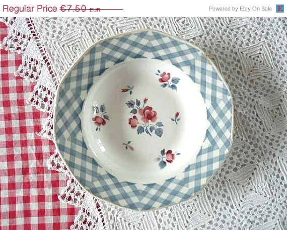 On Sale Antique  French PLATE,