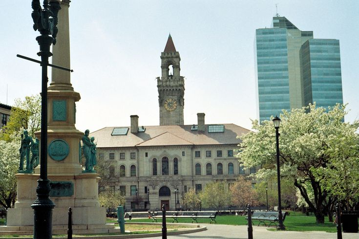 Worcester, MA : Worcester city hall