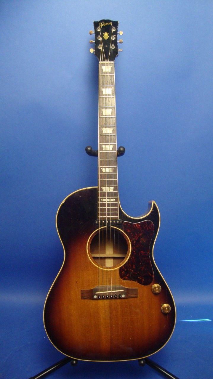 1952 Gibson Cf100 Ce Via Tundra Music Inc Toronto Yamaha Guitar Bass Guitar Scales Acoustic Guitar