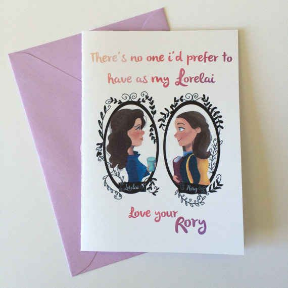 If your mom's your guidepost for everything. Gilmore Girls gifts!