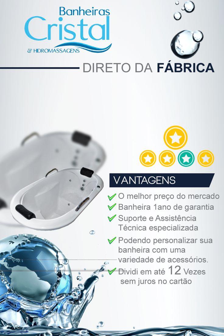 Com um belo design que oferece conforto e bem estar, a Banheira OFURÔ CRISTALINO é fabricada com produtos de alta qualidade e acompanha os seguintes acessórios:  1 PAR DE ALÇA DE APOIO 2 APOIOS DE CABEÇA 4 JATOS CROMADOS  6 MINE JATOS  1 ENTRADA DE ÁGUA 1 SAÍDA DE ÁGUA  1 MOTOR BOMBA DE 1 CV  1 ENTRADA DE AR (AREJADOR) 1 SUCÇÃO TUBULAÇÕES DE ÁGUA  BICO DE HIDROMASSAGEM  TUBULAÇÕES DE AR DOS BICOS DE HIDROMASSAGEM  1 RALO DE FUNDO  1 BICA LADRÃO