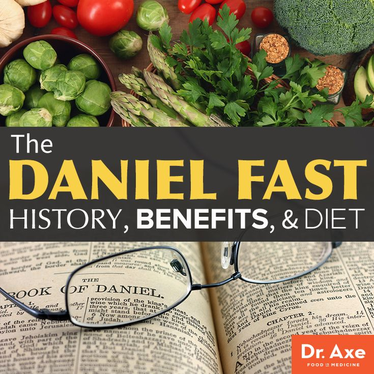 What Is The Daniel Fast Food List