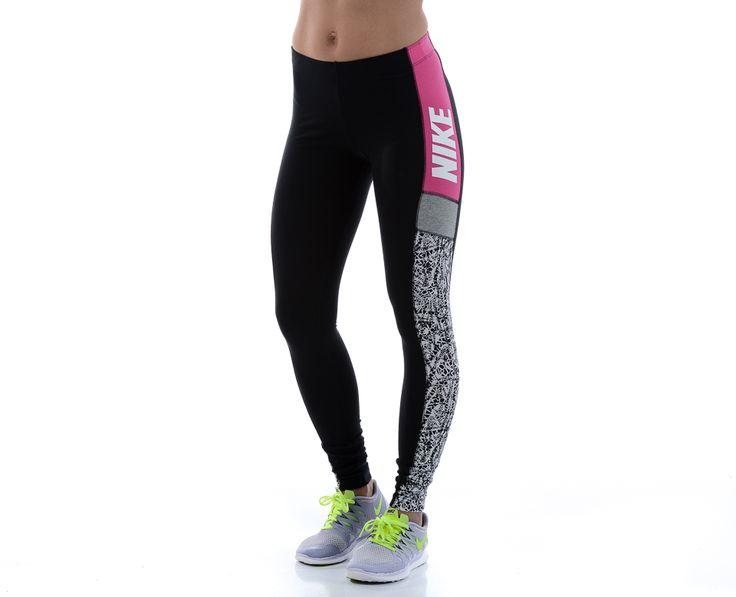Club Legging Colorblock Nike Tøj Tights leggins