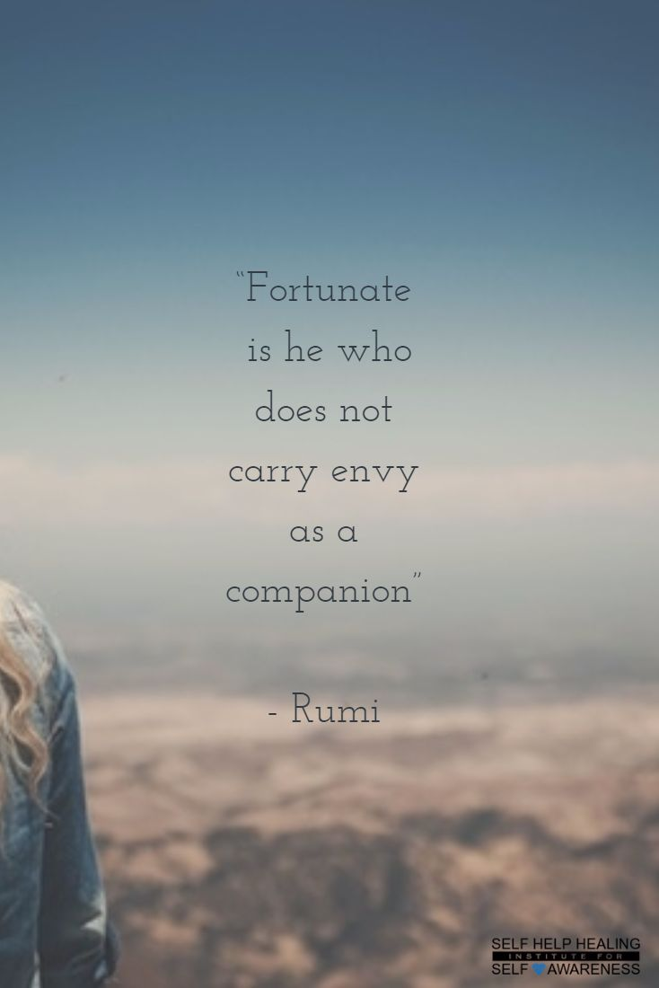 #Quotes by #Rumi - One cannot be grateful while filled with envy. It's gratitude that makes our purpose known to us. - from http://www.selfhelphealing.co.uk