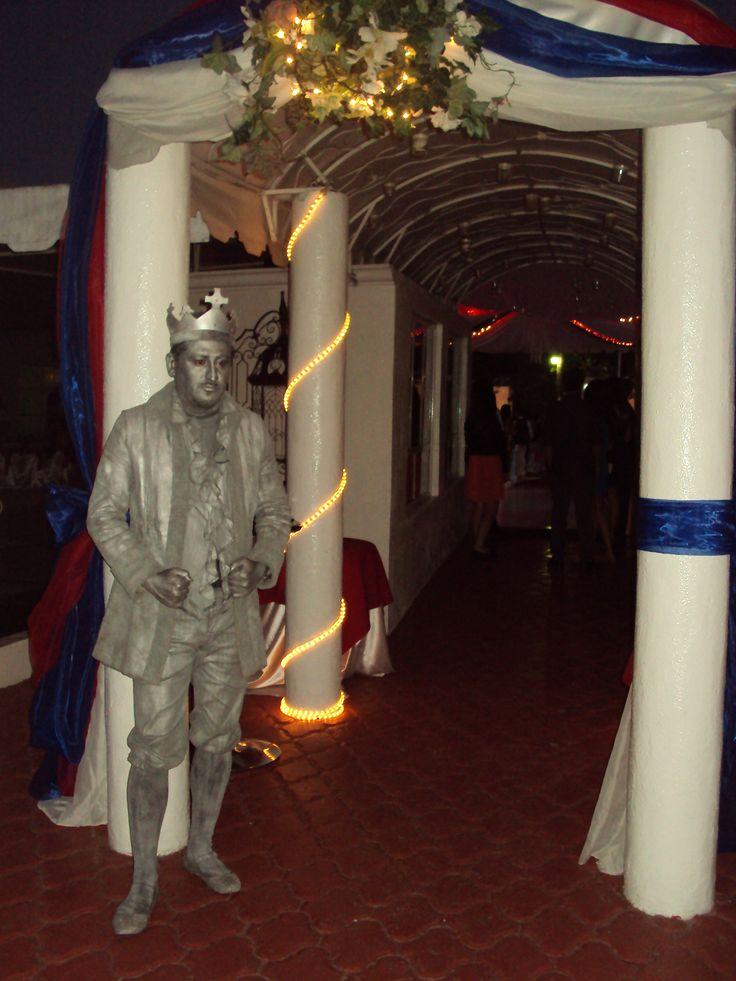 estatuas vivientes  para recepciones de eventos en tijuana