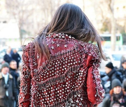 Studded/Pin-Embellished Jacket