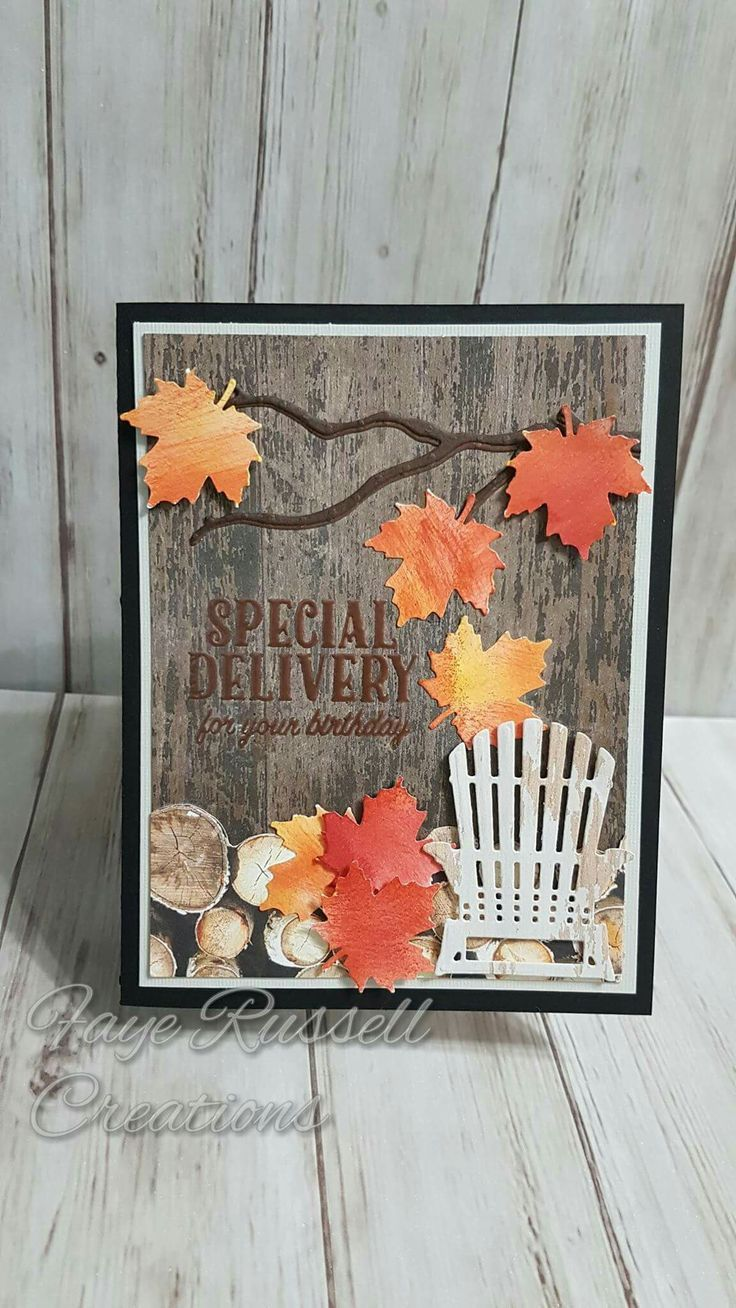 (notitle) Stampin up Thanksgiving cards handmade, Fall