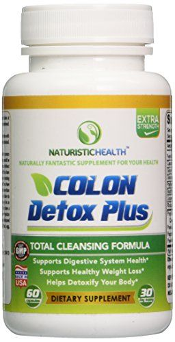 Colon Cleanse Detox Weight Loss Capsules - Best Colon Cleansing Pills - Natural ...