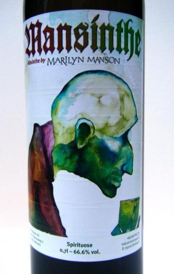 マリリン・マンソンがプロデュースしたアブサン 「Mansinthe マンサン」