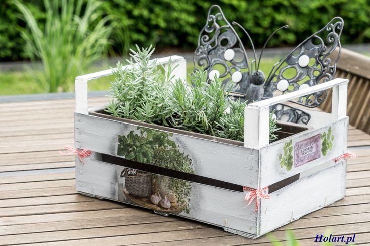 Zrób to sam- drewniana skrzynka na kwiaty. Holart to blog dla osób zainteresowanych tematyką DIY, ogrom inspirujących pomysłów z dużą dawką zdjęć i porad.