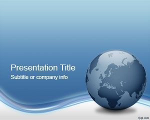 Globe Tech PowerPoint Template