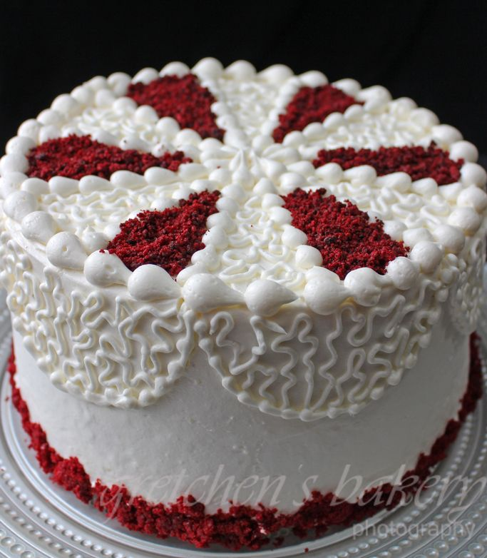 Red Velvet Cake Design Ideas : Best 25+ Red velvet birthday cake ideas on Pinterest ...