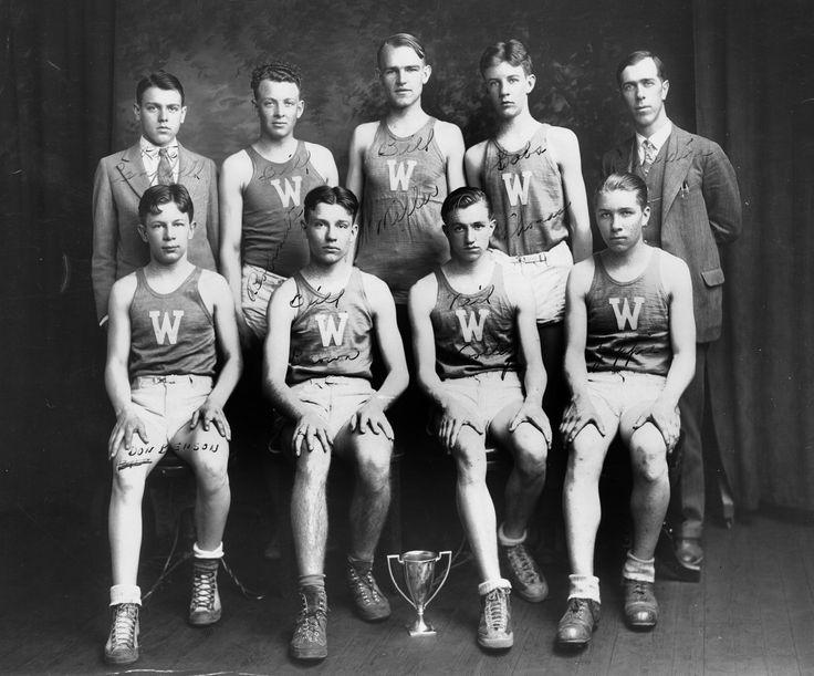 Westminster High School's Basketball Team, 1928