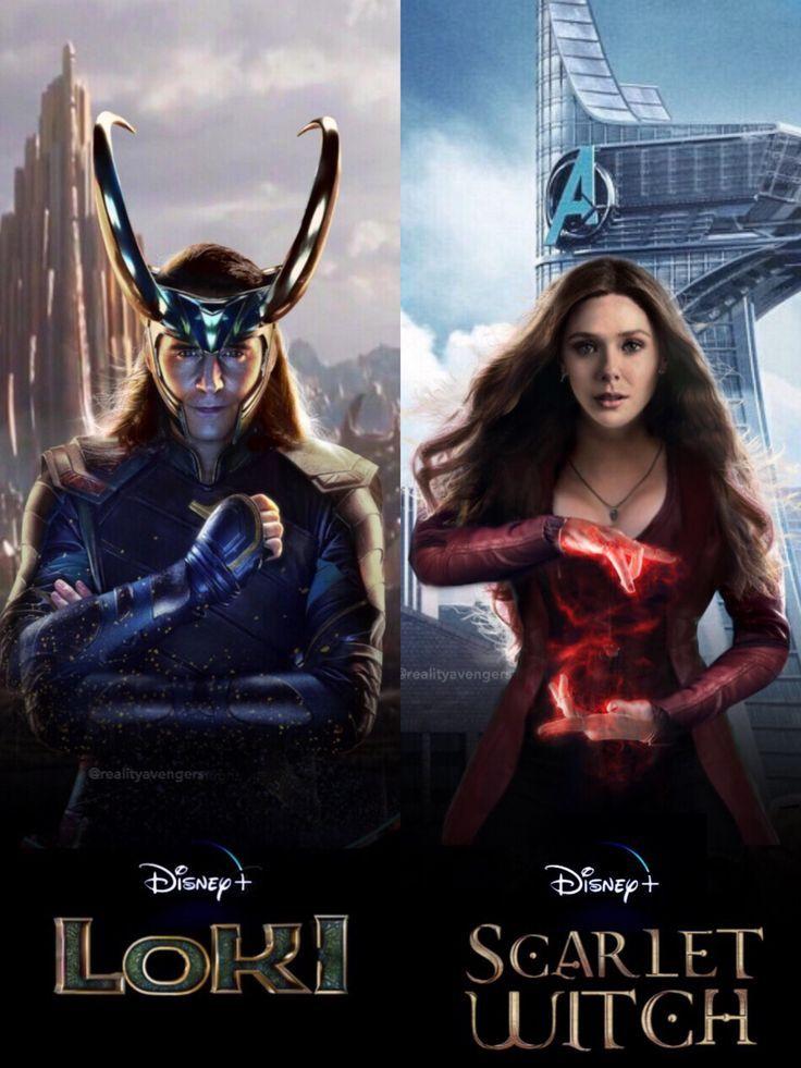 Marvel Avengers Loki Scarletwitch Endgame