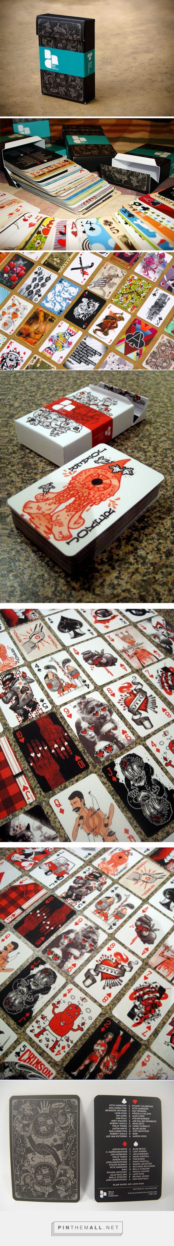 Blackrock playing cards by Pete Harrison