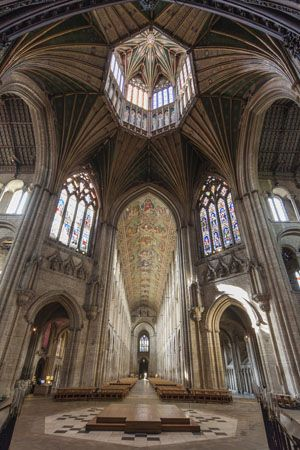 The Octagon, Ely Cathedral, UK.