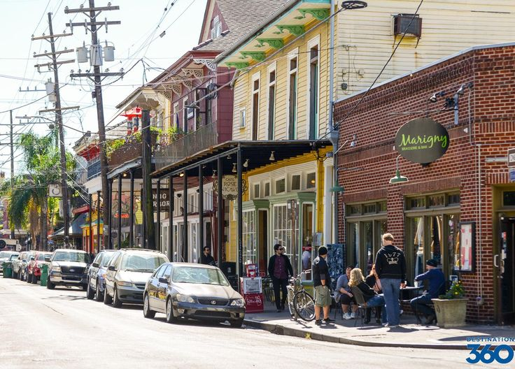 Faubourg Marigny—called The Marigny by locals—is one of the small, primarily residential neighborhoods on the Mississippi River just to the east of the French Quarter.