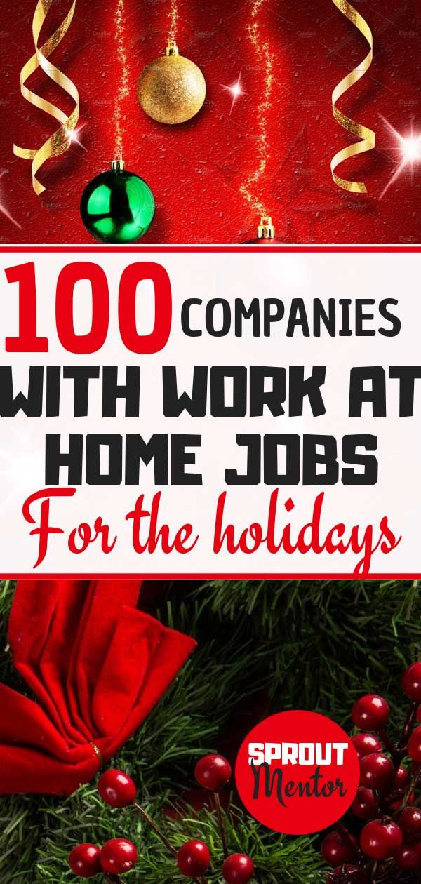 106 Work From Home Jobs Hiring In 2020 Sproutmentor Work From Home Jobs Home Jobs Online Jobs From Home
