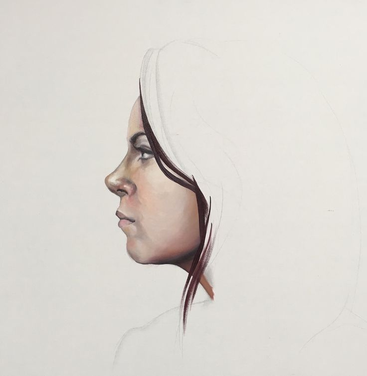 Shelley Swain. Self Portrait. 2016. Oil on Canvas