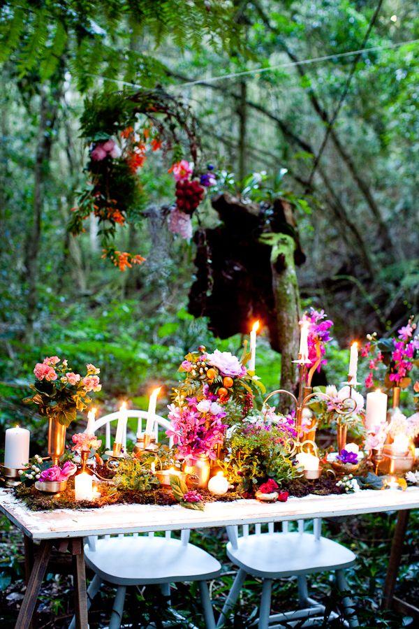 Eco Wedding Fair August 25: Enchanted Forest   WHITE MagazineWHITE Magazine - This reminds me of Ramandu's Island.