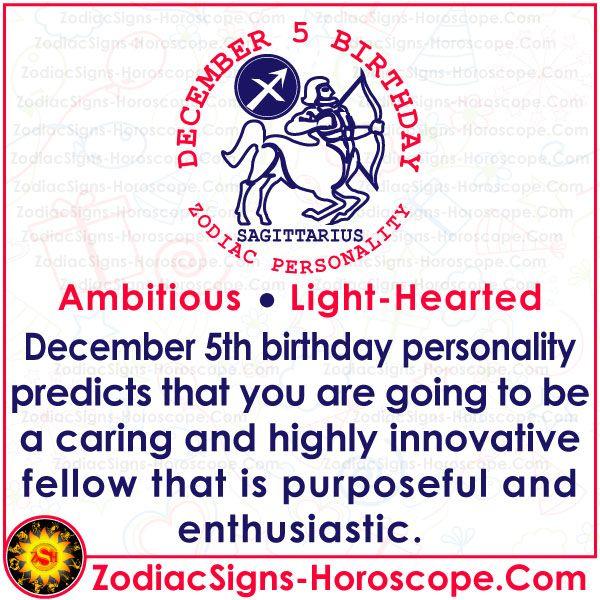 December 5 Zodiac Accurate Birthday Personality Horoscope Birthday Personality Birthday Horoscope December 11 Zodiac