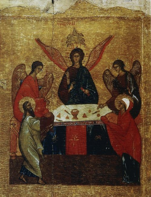 The hospitality of Abraham and Sarah
