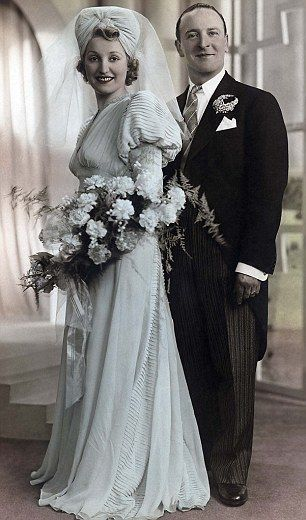 Sylvia Ruda and Michael Hanison were married on 16 March, 1941 at the New Synagogue in Sta...