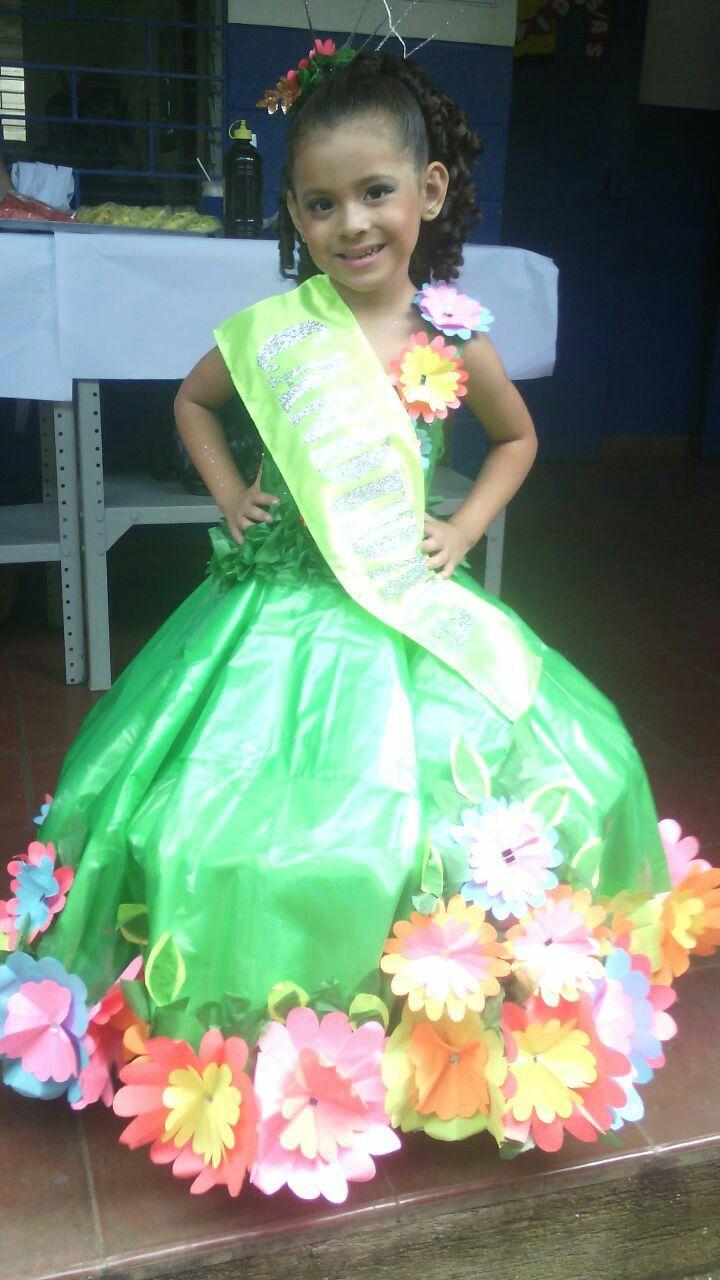 Vestido ecológico niña